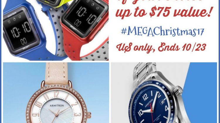 #Win an Armitron Watch of your Choice- $75 arv US ends 10/23 #MegaChristmas17