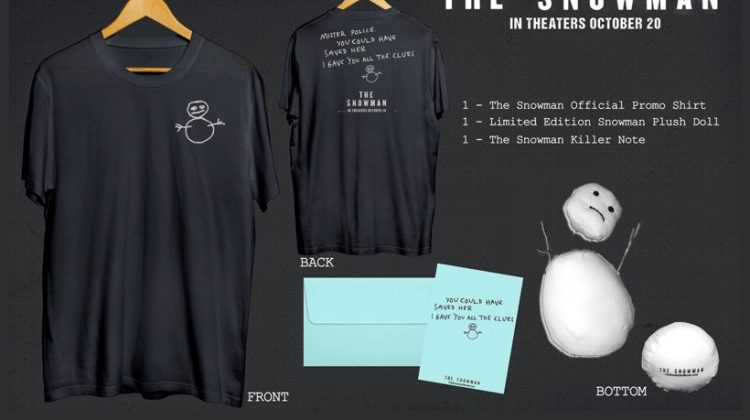 #Win The Snowman Prize Pack #TheSnowman