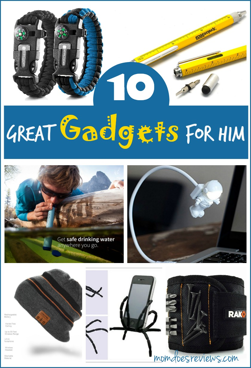 10 Great Gadgets for Him #MegaChristmas17