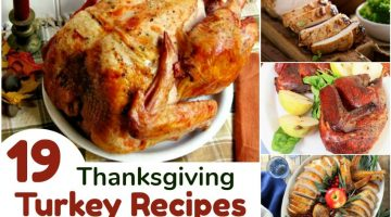 19 Thanksgiving Turkey Recipes that will make you drool!