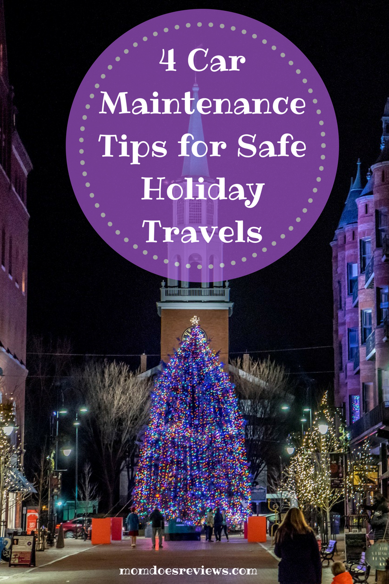 4 Car Maintenance Tips for Safe Holiday Travels