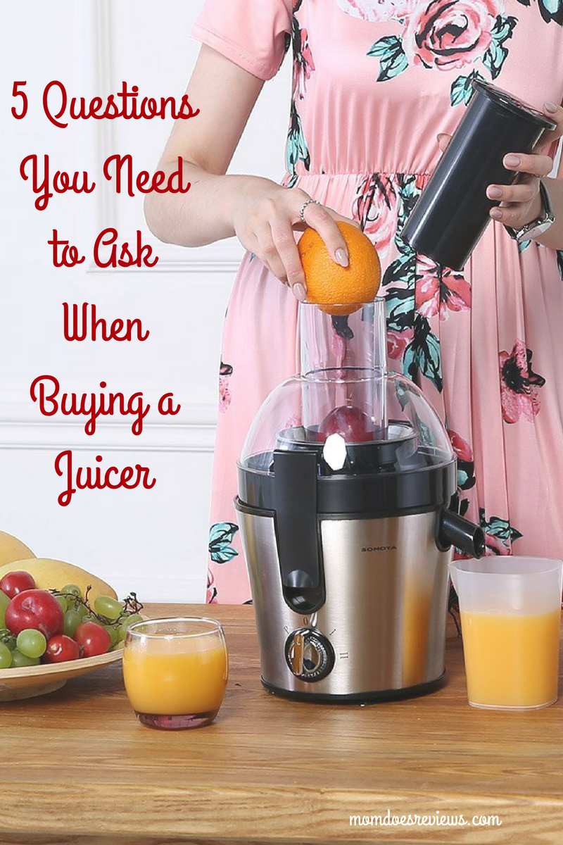 5 Questions You Need to Ask When Buying a Juicer