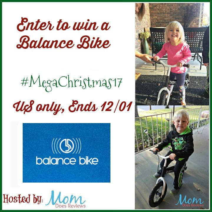 Balance Bike Giveaway
