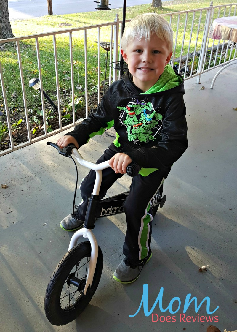 Instill the Love of Riding with a Balance Bike #MegaChristmas17