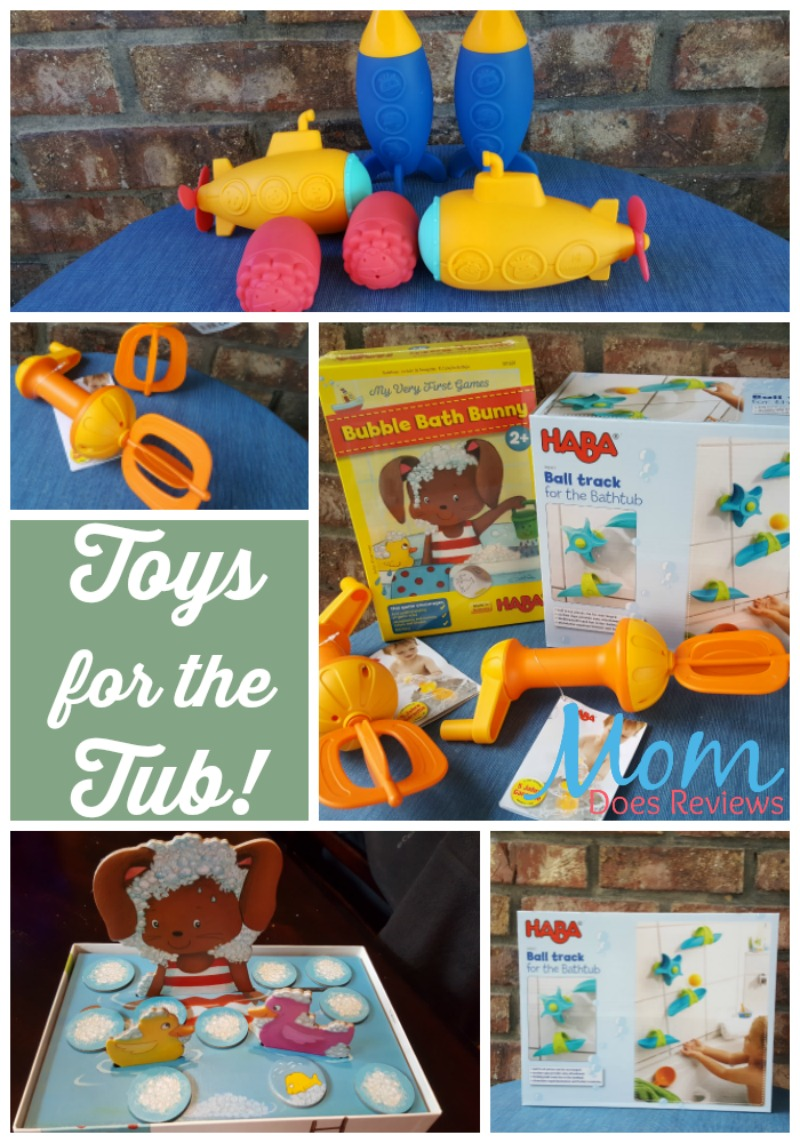 Toys for the Tub!