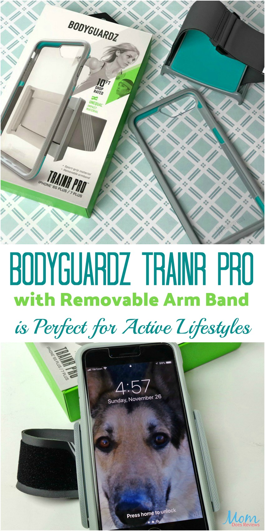 BodyGuardz Trainr Pro with Removable Arm Band