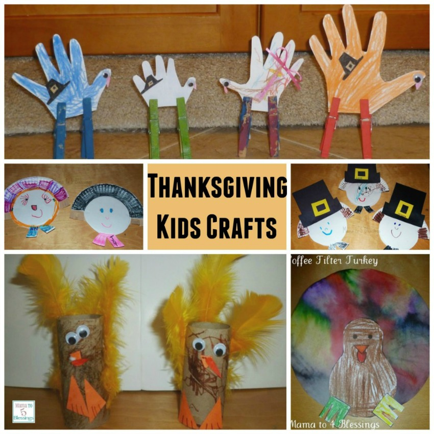 Cute And Easy Crafts For Thanksgiving
