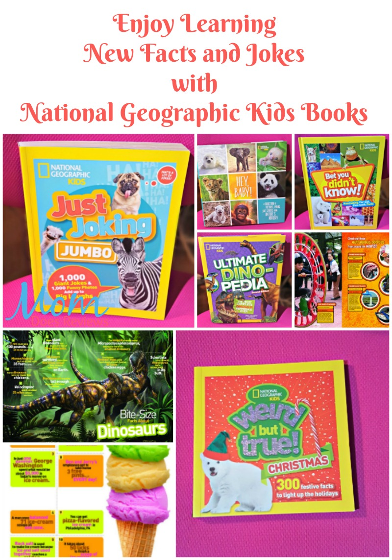 Enjoy Learning New Facts and Jokes with National Geographic Kids Books