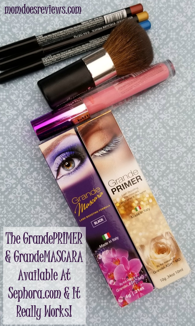The GrandePRIMER & GrandeMASCARA Available At Sephora.com & It Really Works!