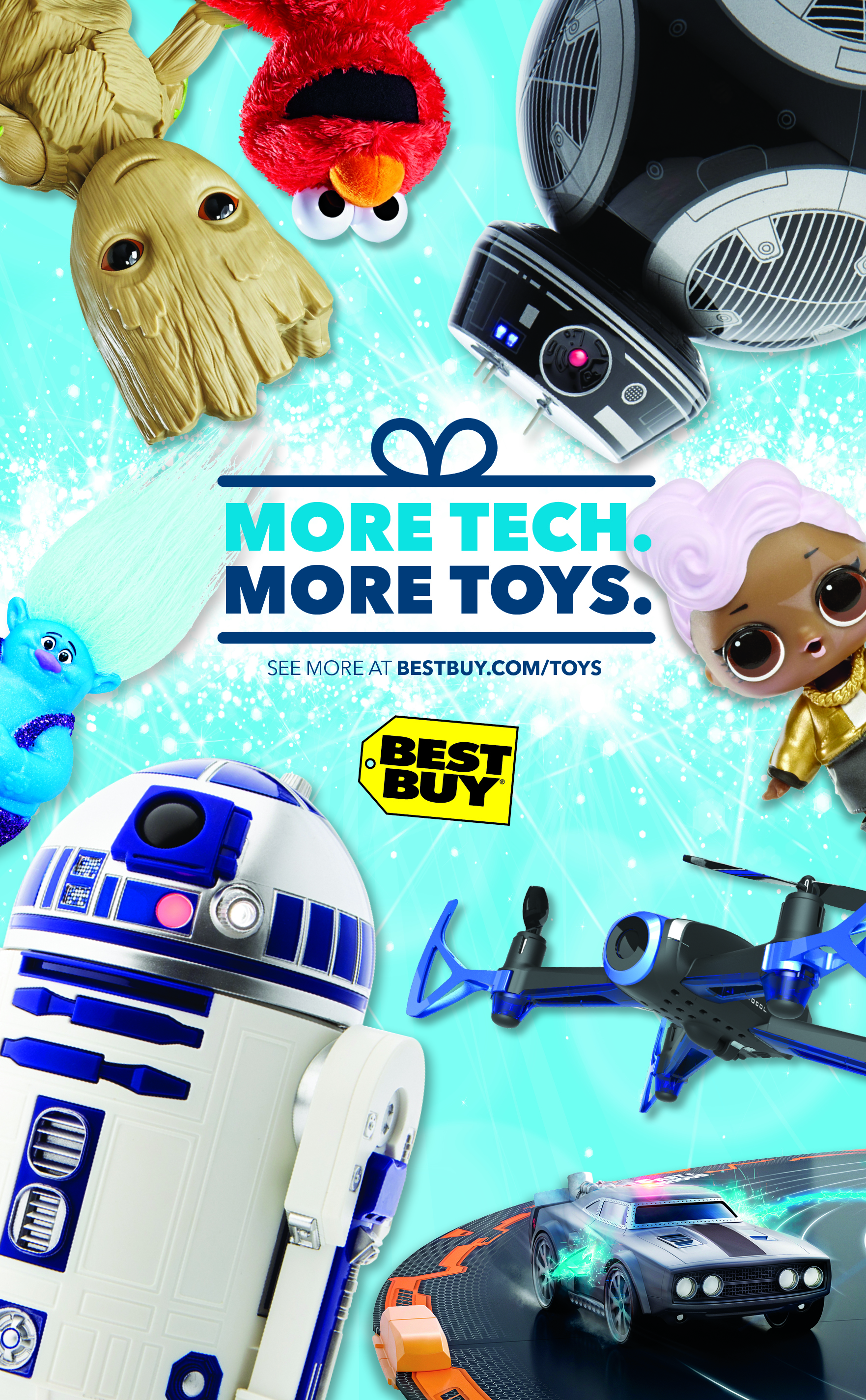 Toys For Holiday : Get the coolest holiday toys bestbuy ad megachristmas