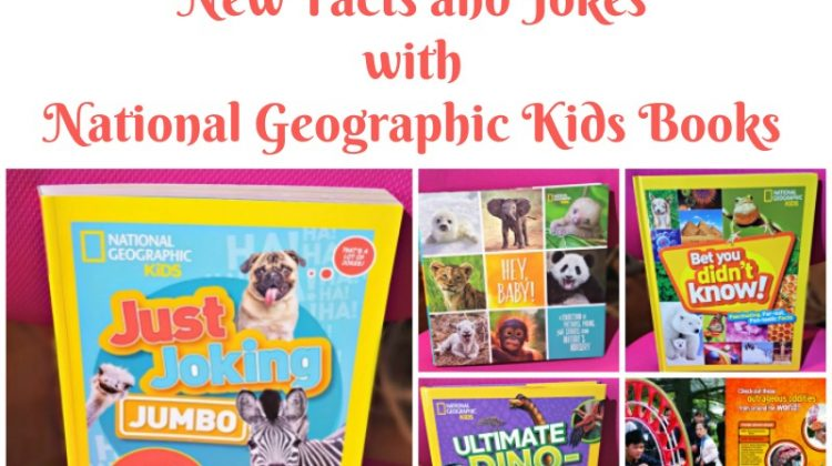Enjoy Learning New Facts and Jokes with National Geographic Kids Books #MegaChristmas17