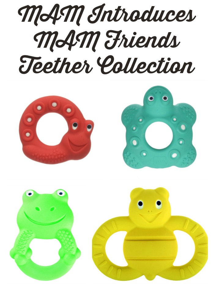 MAM Introduces MAM Friends Teether Collection
