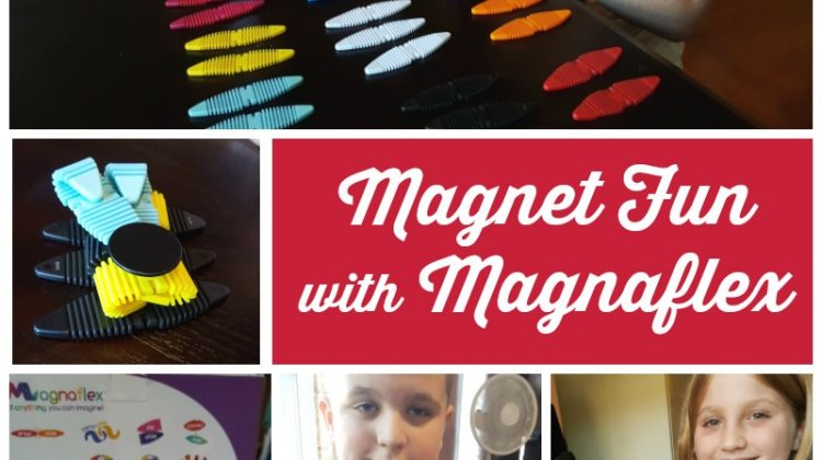 Magnet Fun with Magnaflex #MegaChristmas17
