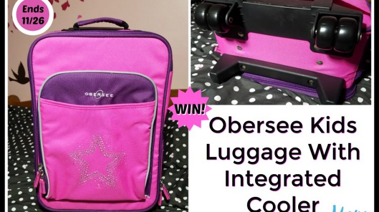 #Win Obersee Kids Luggage Open to US, ends 11/26 #MegaChristmas17