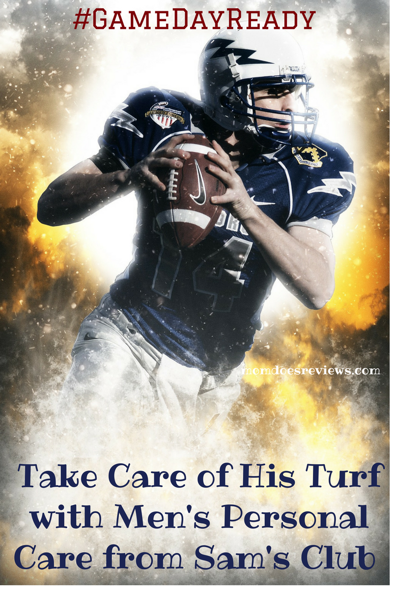 ake Care of His Turf with Men's Personal Care from Sam's Club #GameDayReady #samsclub