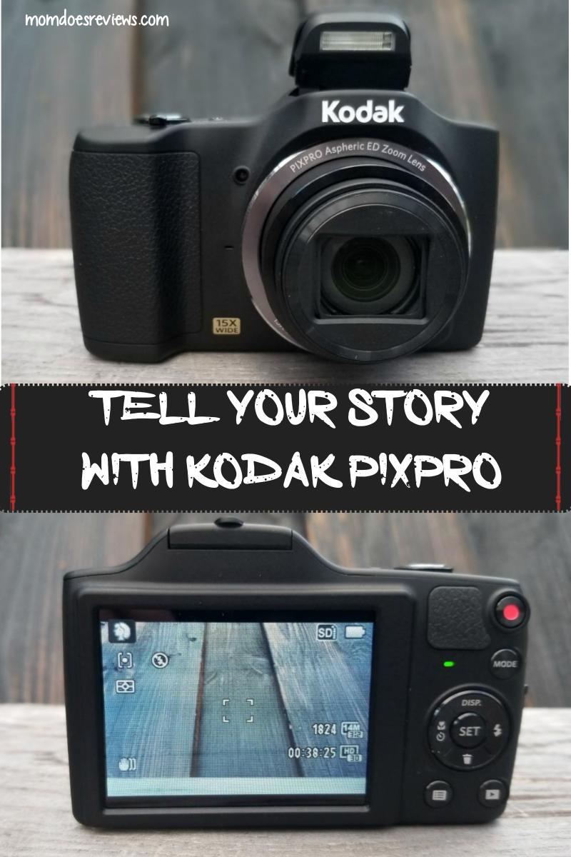Tell Your Story with KODAK PIXPRO #MegaChristmas17