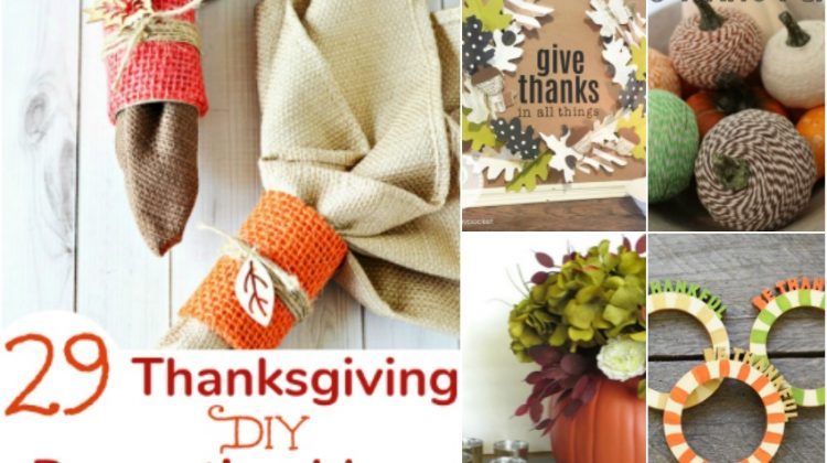29 Thanksgiving DIY Decorating Ideas to Fall in Love with
