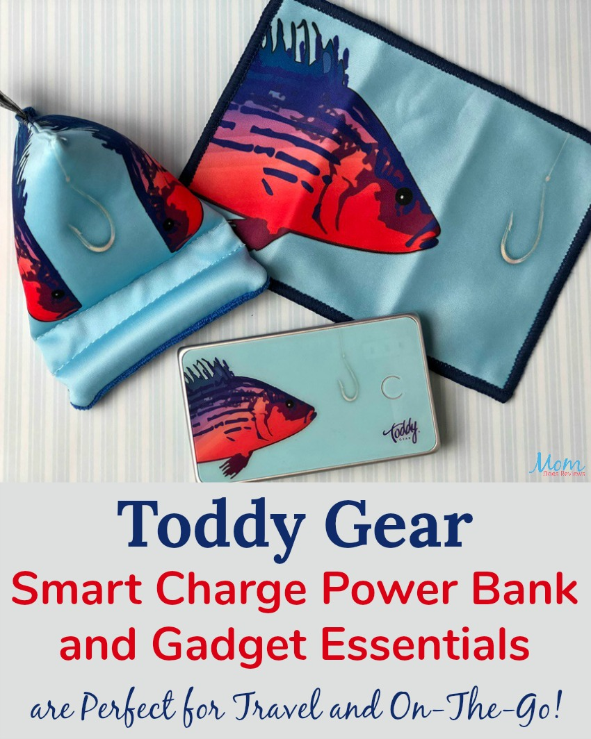Toddy Gear Smart Charge Power Bank and Gadget Essentials are Perfect for Travel and On-The-Go! banner