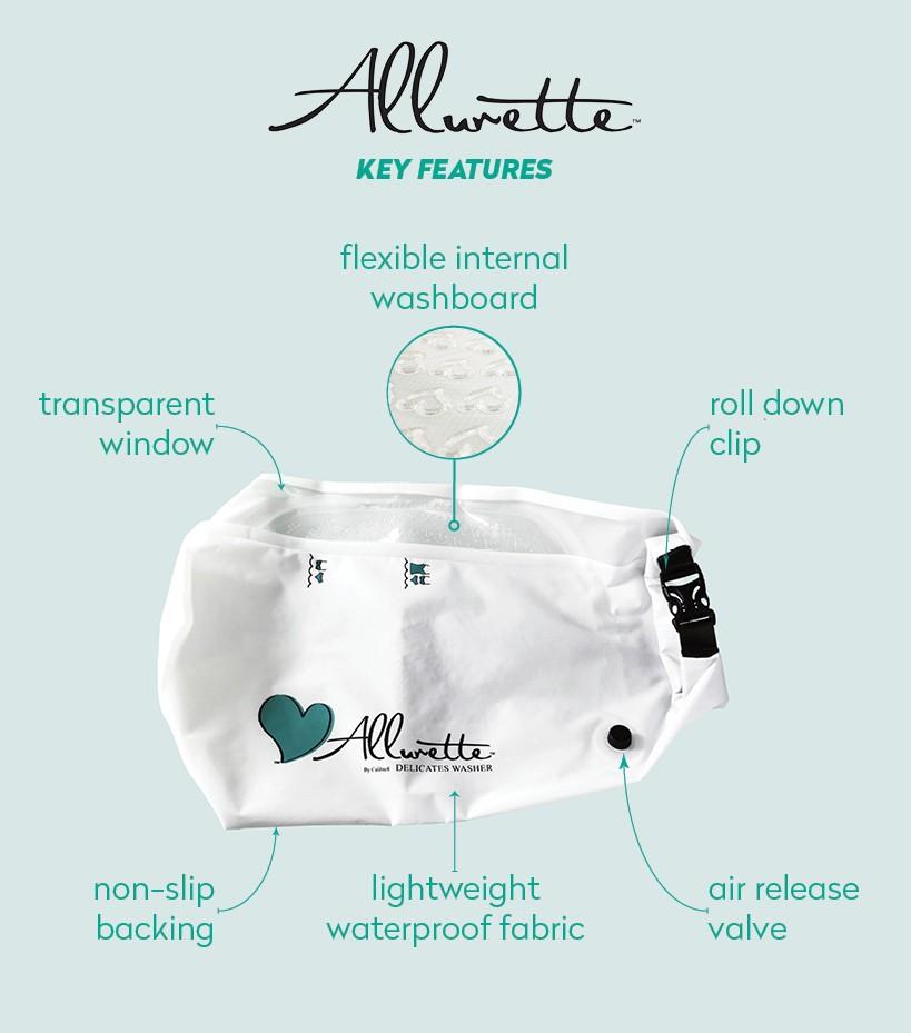 Allurette Personal Washing Bag #MegaChristmas17