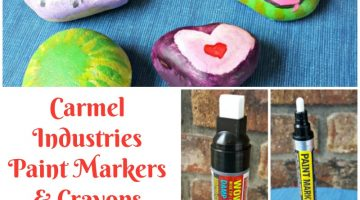 Carmel Industries Paint Markers & Crayons #MegaChristmas17