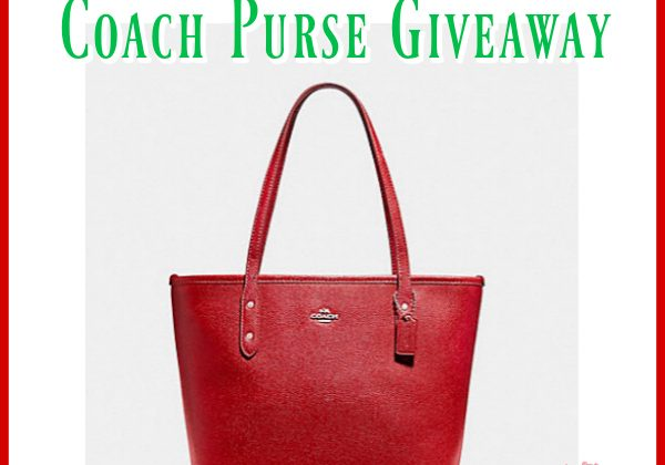 Coach Purse Giveaway! Enter Daily! US ends 12 22 99cb9c4650f5d