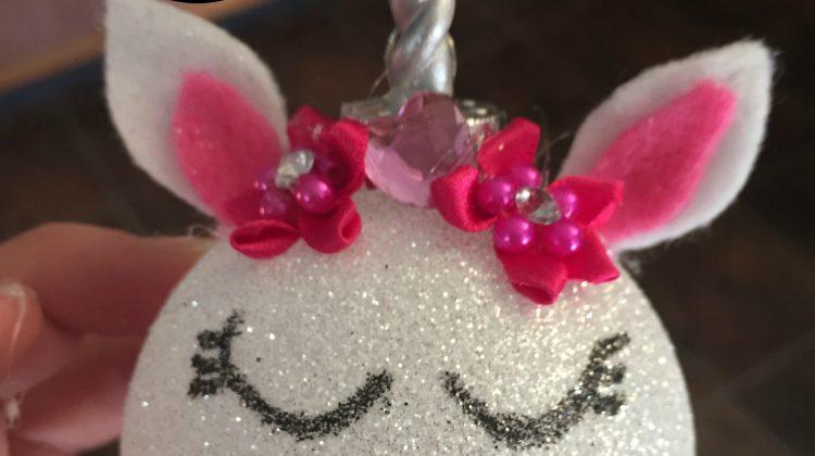 DIY Unicorn Ornament #craft