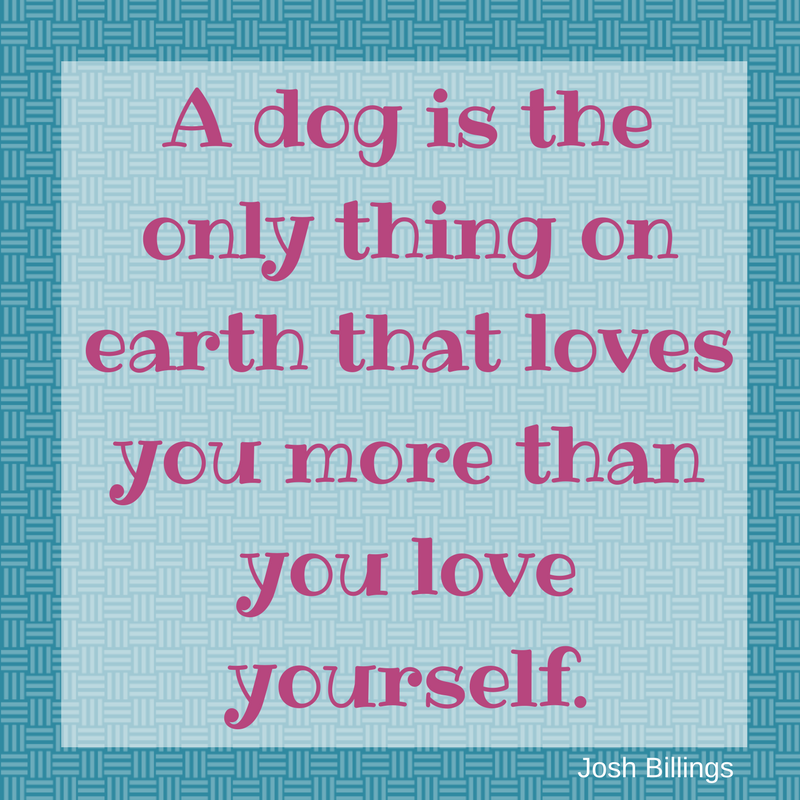 Dogs Love Quote