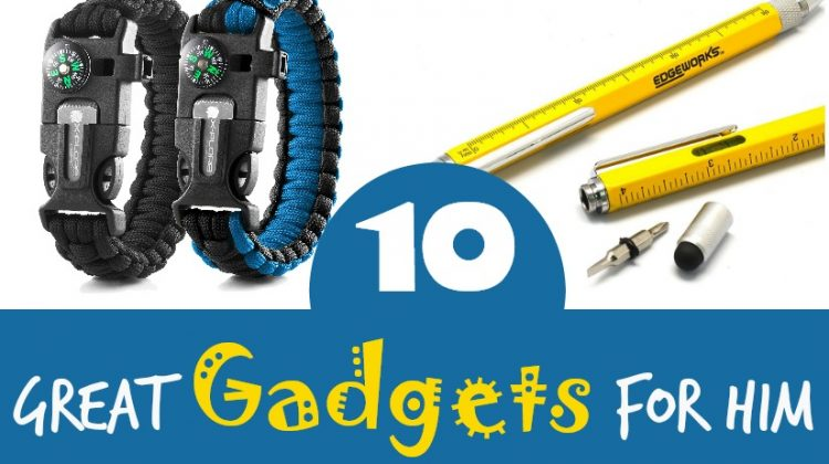 Ten Great Gadgets for Him #MegaChristmas17