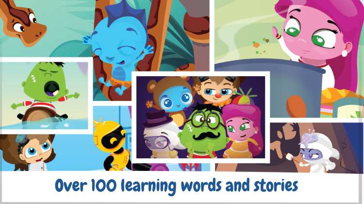 Build Strong Literacy Skills with Wonster Words ABC Phonics and Spelling App #ad