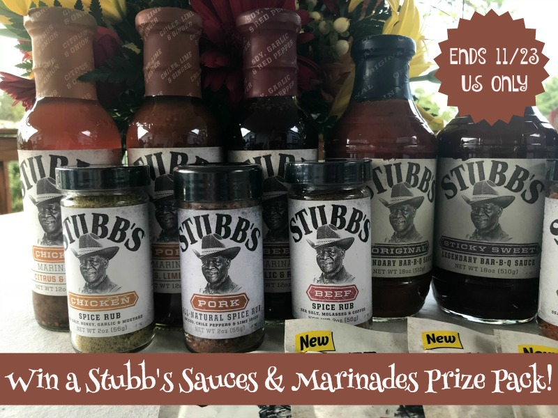 Win Stubbs Sauces and marinades