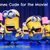 Win Despicable me 3 movie code