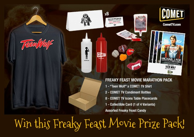 Freaky Feast Movie Prize pack