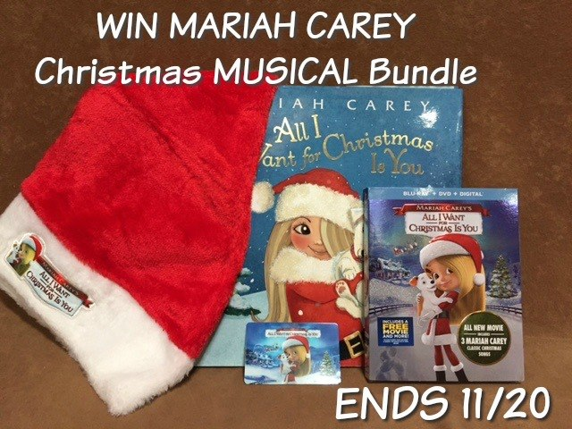 Win Mariah Carey Bundle