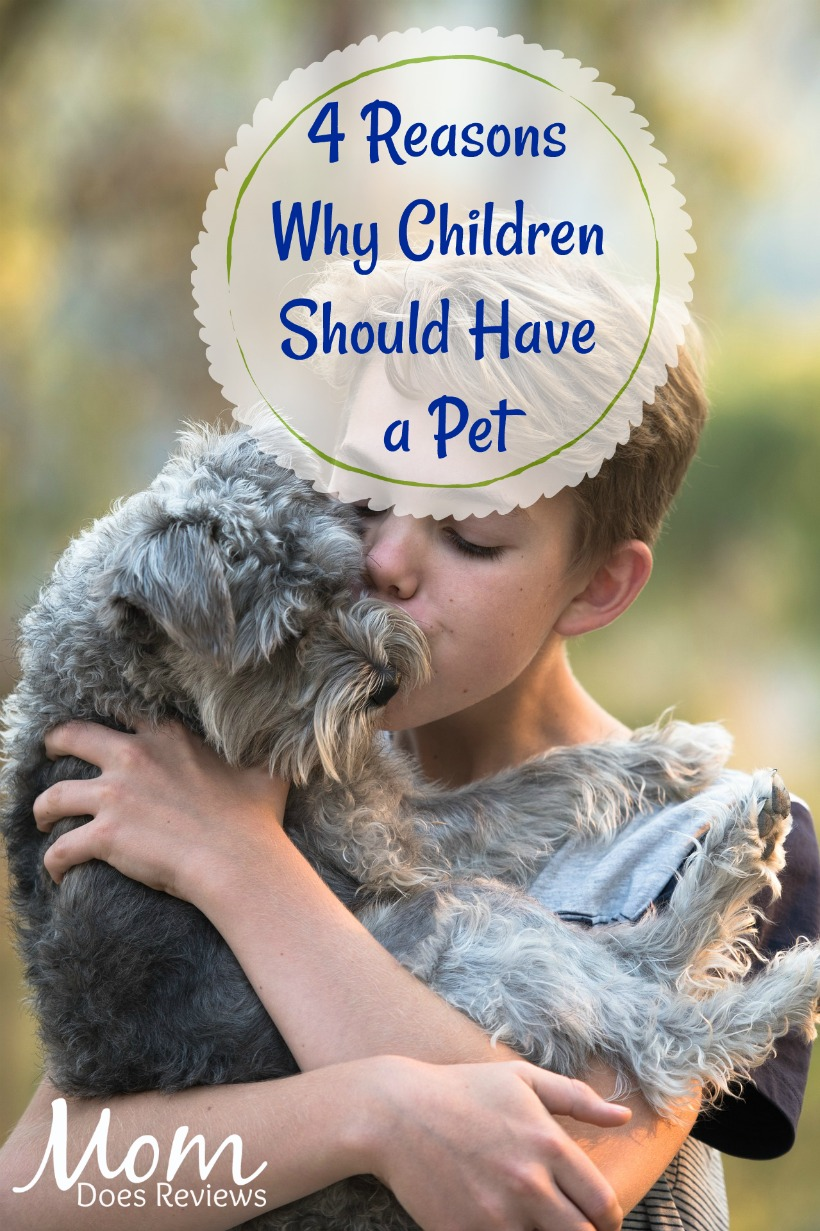 4 Reasons Why Children Should Have a Pet