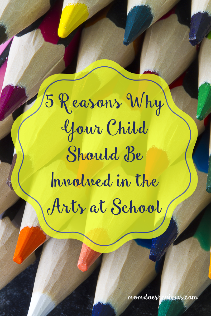 5 Reasons Why Your Child Should Be Involved in the Arts at School