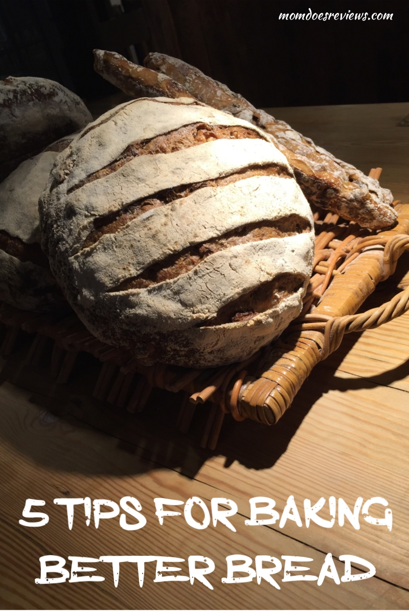 5 Tips for Baking Better Bread