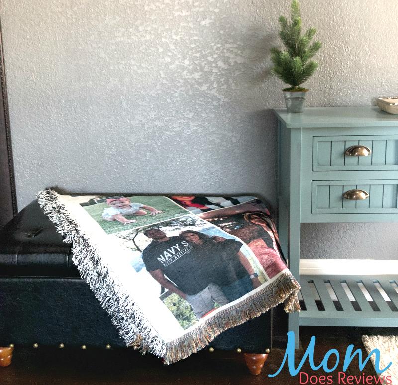 Collage.com custom blanket