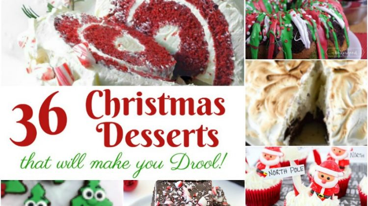 36 Christmas Desserts that will make you Drool!