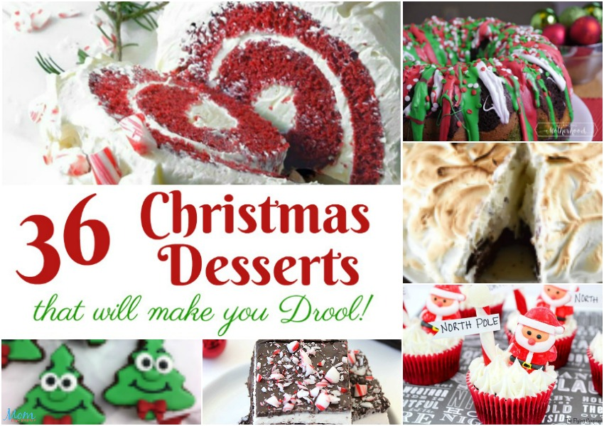 36 christmas desserts that will make you drool