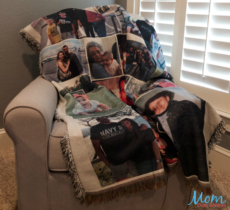 Collage Blankets make the perfect Christmas Gifts