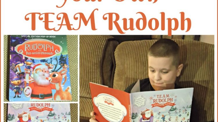 Learn and Create Your Own TEAM Rudolph #MegaChristmas17