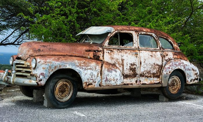 Crusty Clunker: 5 Thoughts on What to Do with an Old Car