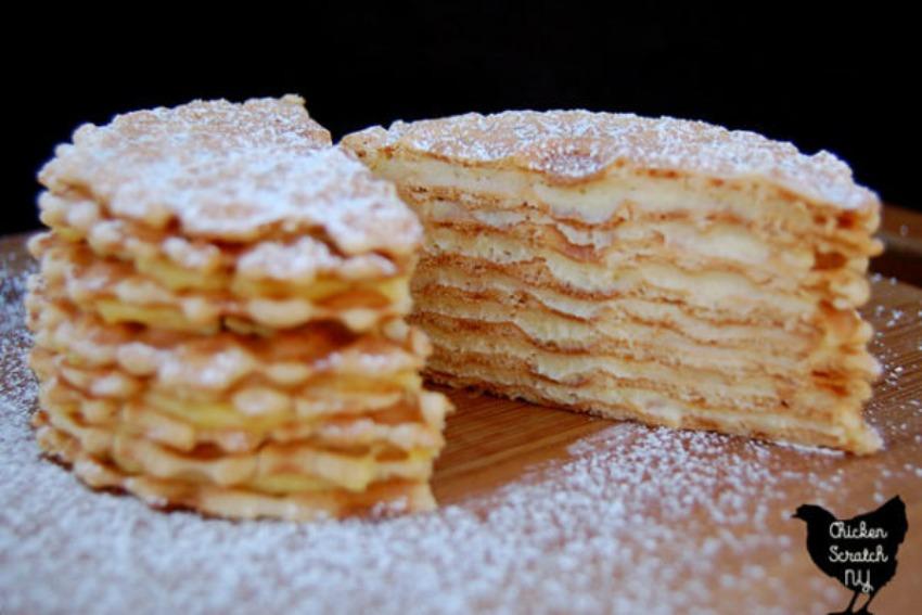 Eggnog Icebox Cake – No Bake Christmas Dessert
