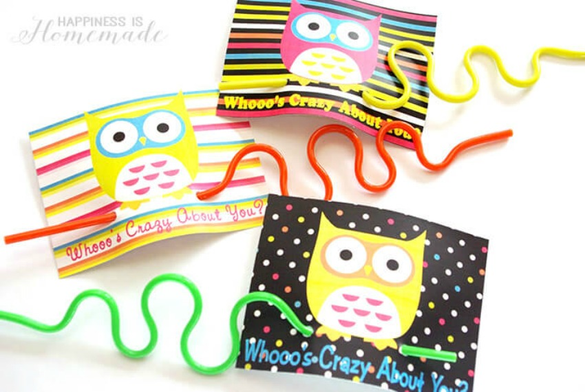 Owl-Crazy-Straw-Valentines-Day-Cards