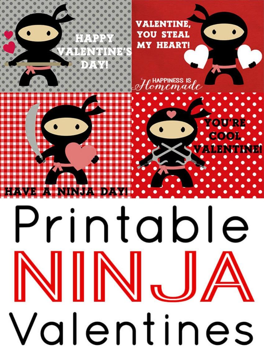 Printable-Ninja-Valentines-Day-Cards