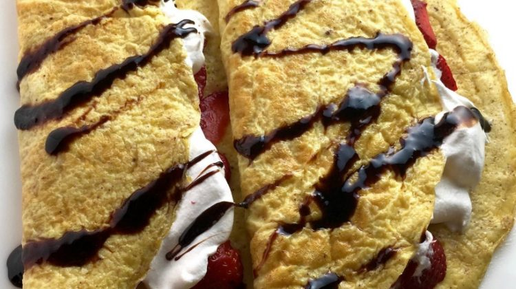 Sweet Flourless Crepes