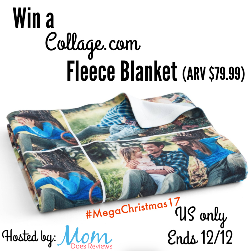 Win a fleece blanket from collage.com ARV $79.99