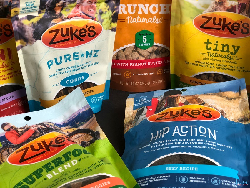 Treat your Pet to a Healthier New Year with Zuke's Wholesome Treats