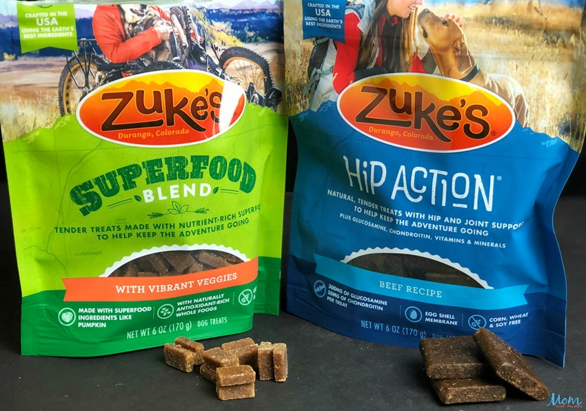 Zuke's Superfood Blend and Hip Action