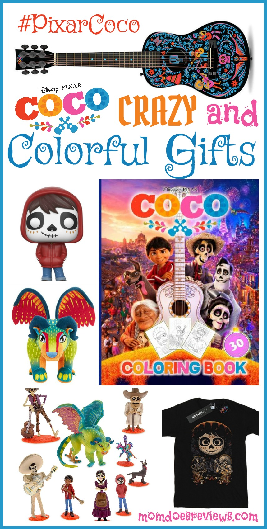 Disney Pixar's Coco Crazy and Colorful Gifts